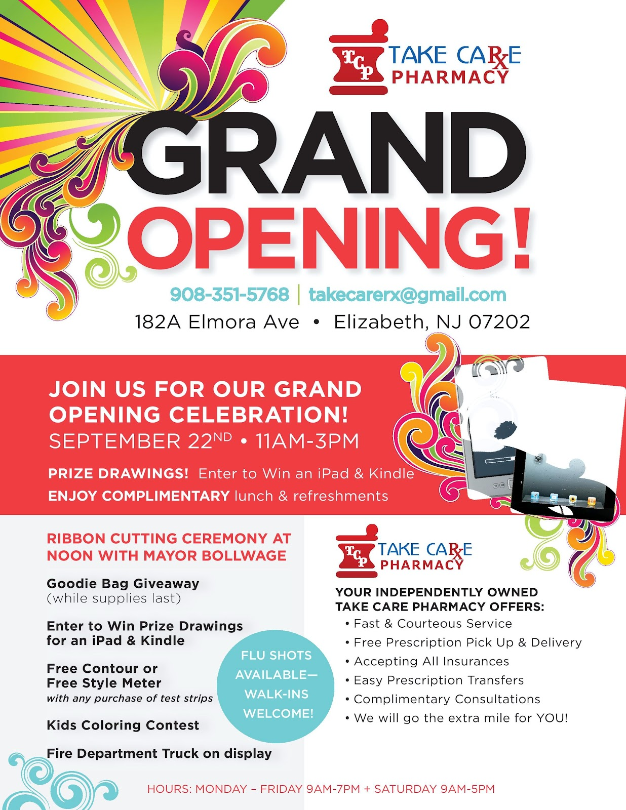 the gallery for gt grand opening flyer