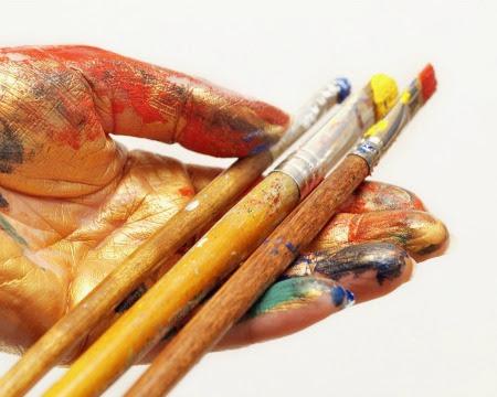 Resultado de imagen para El pincel en tus manos