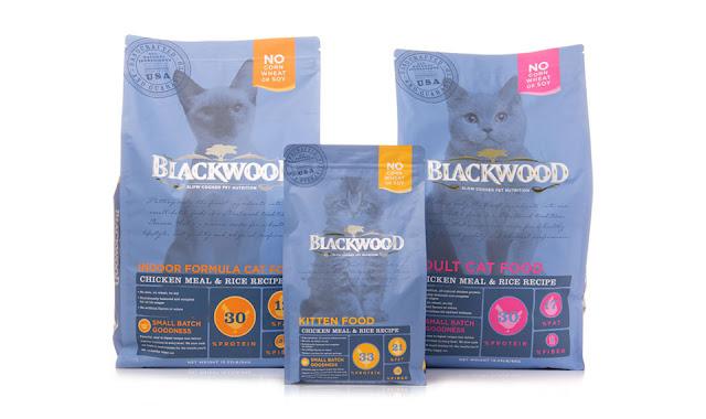 Jenis Makanan Kucing Blackwood