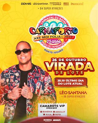 Leo Santana no Carnaporto 2022