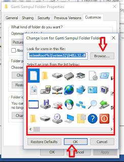 Cara Mengganti Ikon Folder di Windows Dengan Cepat Mudah