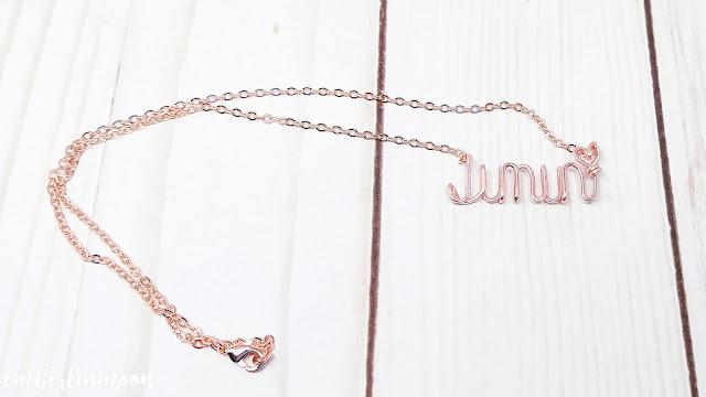 I Purple You Shop | Jimin Necklace