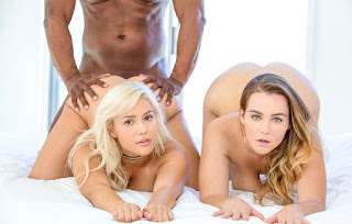 Natasha Nice and Kylie Page Two curvy girls compete