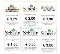 Schesir Vip Club buoni sconto da stampare gratis : risparmi € 15,19
