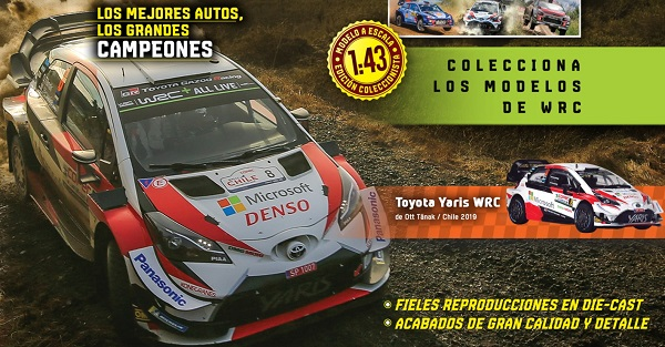 colección de autos a escala Autos de Rally WRC