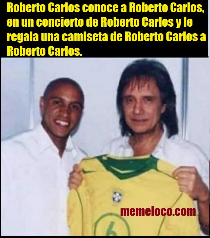 Roberto Carlos conoce a Roberto Carlos