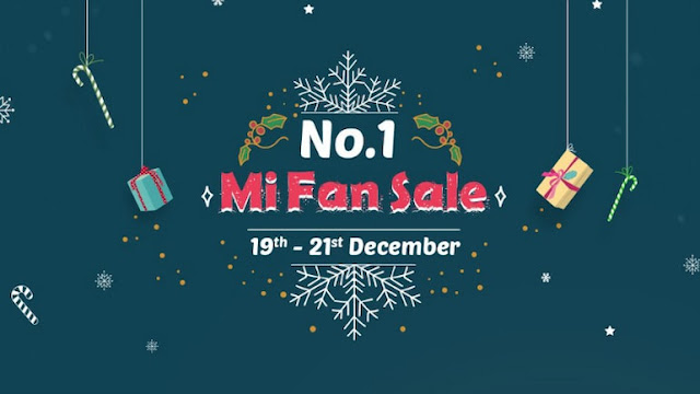 One more sale of Xiaomi from December 19, will be available on these products.