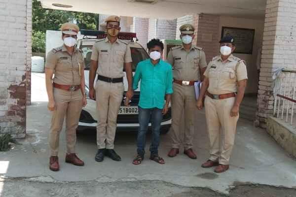 women-police-thana-central-faridabad-arrested-rape-accused