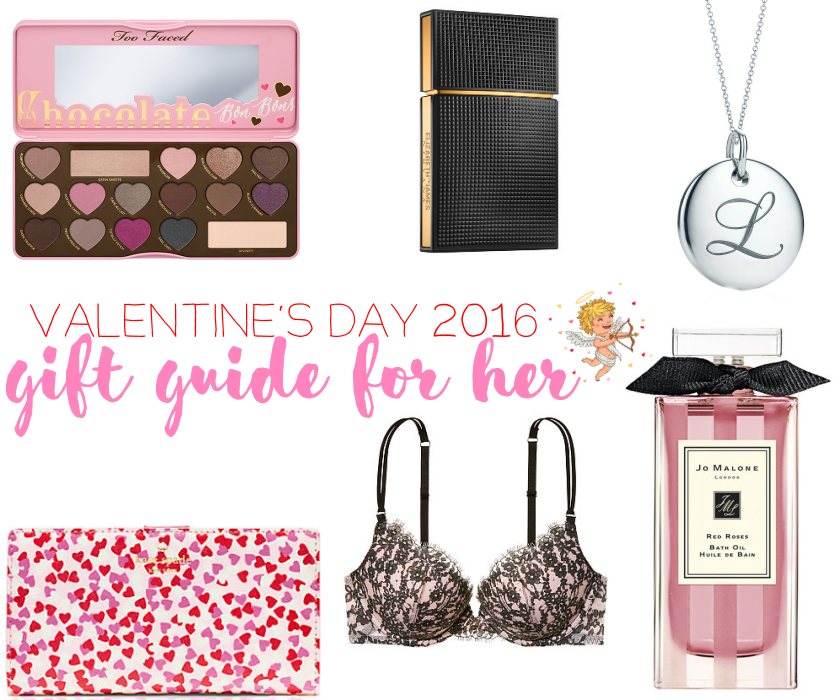 bbloggers, bbloggersca, beauty, sephora, too faced, nirvana black, tiffany alphabet charm, kate spade stacy, victoria's secret bra, jo malone bath oil, valentine, gifts, guide