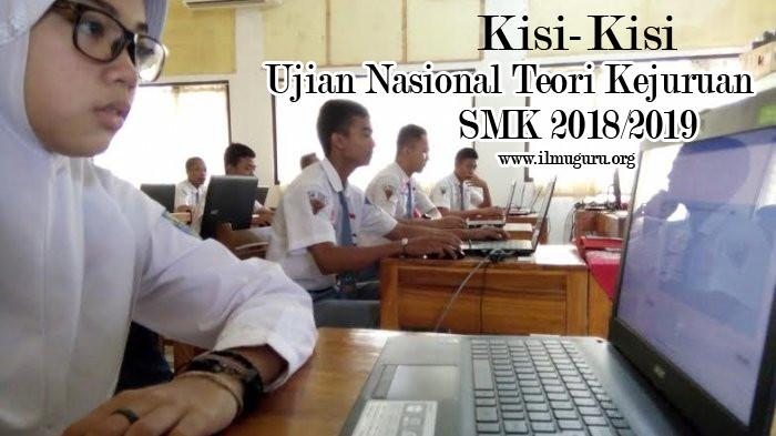 Kisi-Kisi UN SMK