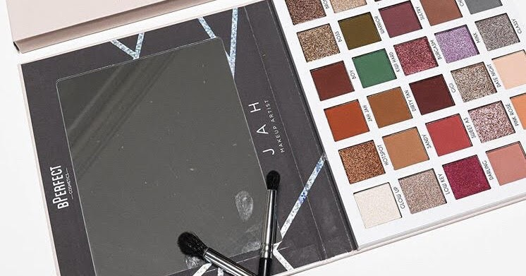 B PERFECT X JAH MAKEUP ARTIST CLIENTELE PALETTE PRICE SWATCHES & RELEASE DATE