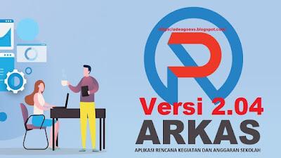 DOWNLOAD UPDATE APLIKASI RKAS VERSI 2.04