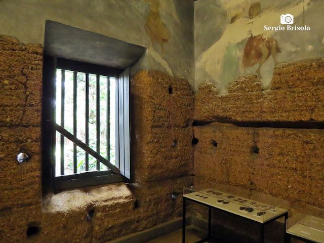 Vista em detalhes do interior da Capela do Morumbi - São Paulo