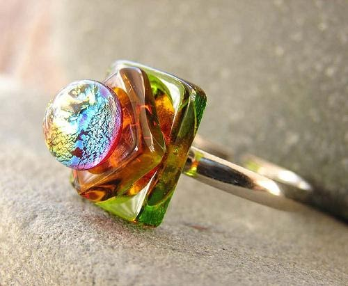 Fused Glass Designs Make Fused Glass Rings