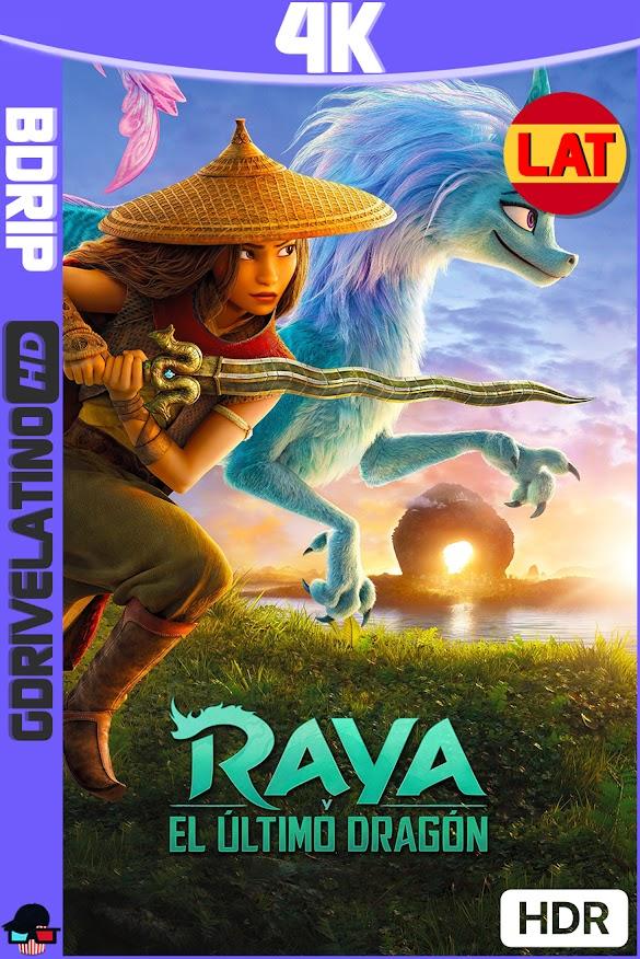 Raya y el Ultimo Dragón (2021) BDRip 4K HDR Latino-Ingles MKV