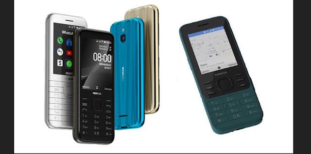 مواصفات هاتف نوكيا Nokia 6300 4G و Nokia 8000 4G