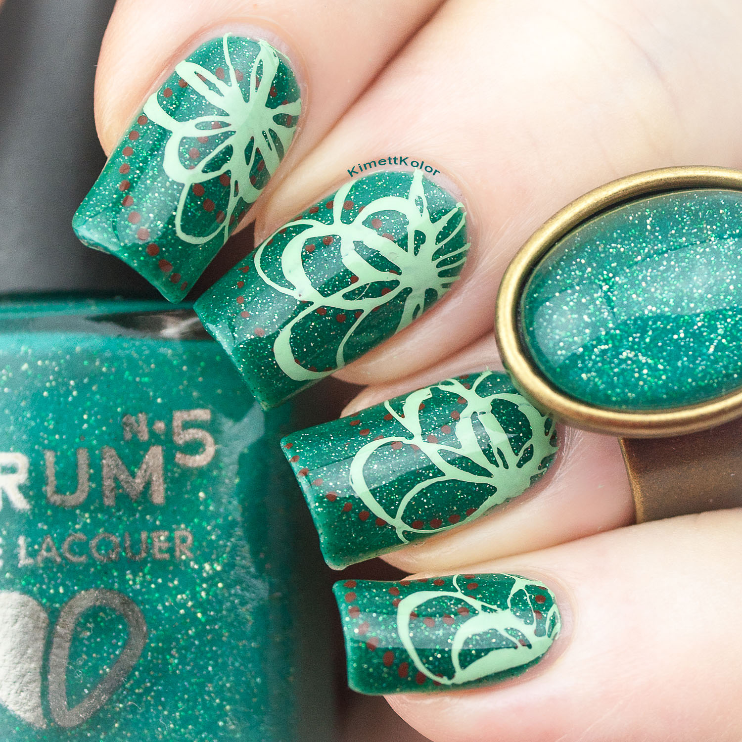 Let's Avocuddle with Nail Art for Sharon