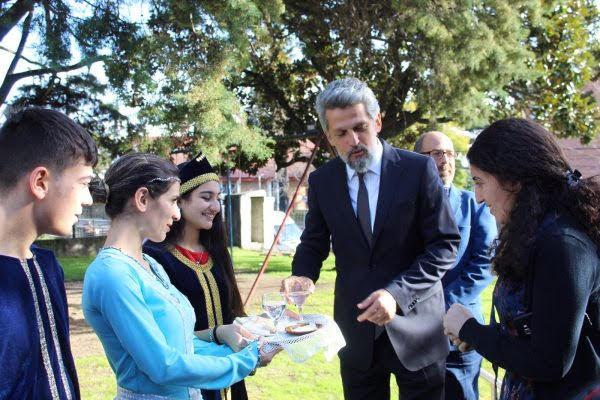 Garo Paylan agradeció reconocimiento del PARLASUR al Genocidio Armenio