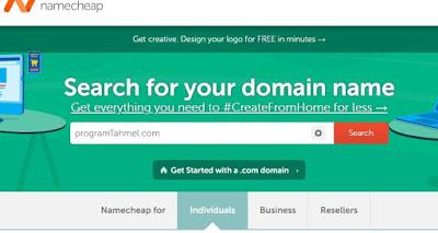 كيفية شراء دومين مدفوع من namecheap لربح المال من الانترنت