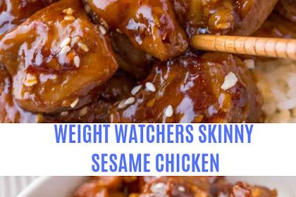 WEIGHT WATCHERS SKINNY SESAME CHICKEN