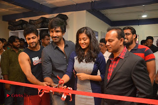 Actor Aadhi And Actress athrie Inaugurated F45 Fitness Studio Stills .COM 0077.jpg