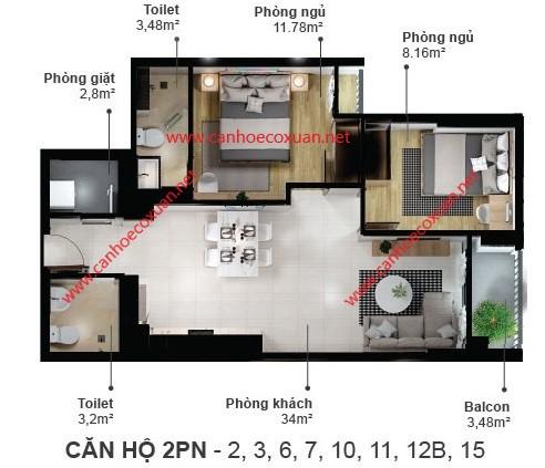 can-ho-2-phong-ngu-66.9m2-eco-xuan-skyresidences-binh-duong-block-a