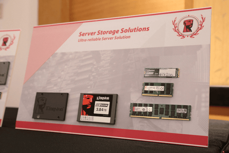 Kingston to bring full line up of storage solutions in the Philippines, offers one year warranty