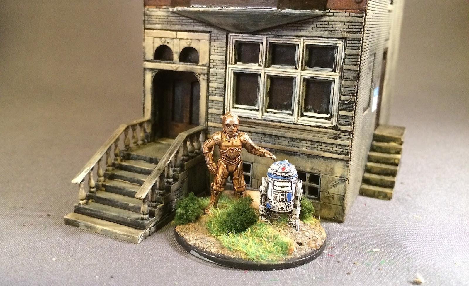 Bob S Miniature Wargaming Blog More Ho Scale Buildings
