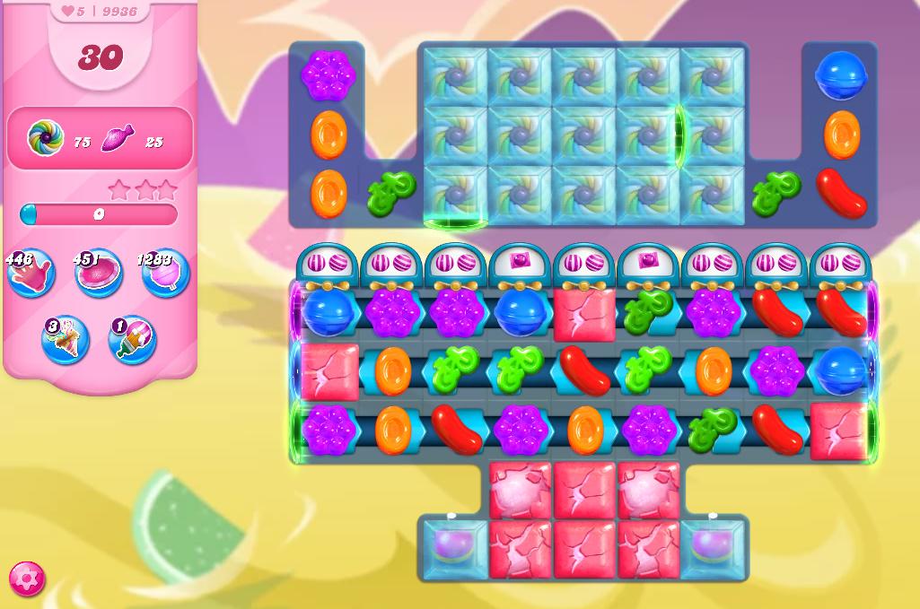 Candy Crush Saga level 9936