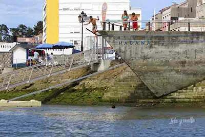 Baño en el Sella
