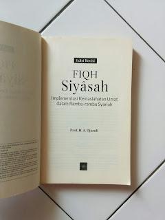 Fiqh Siyasah (Edisi Revisi)