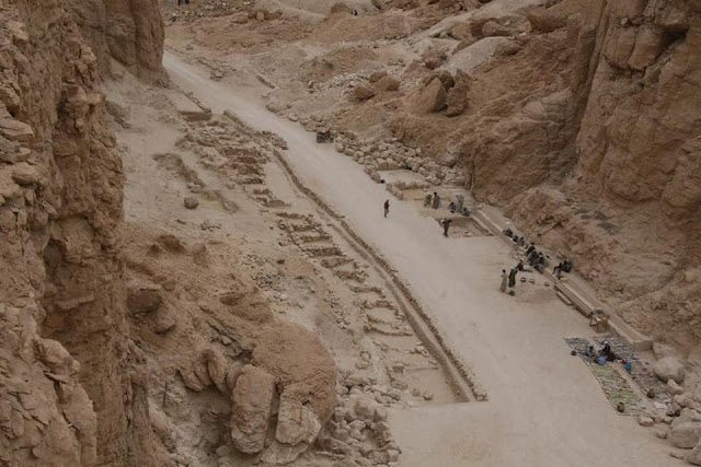 Ancient Egyptian funerary equipment workshops revealed at Valley of the Monkeys