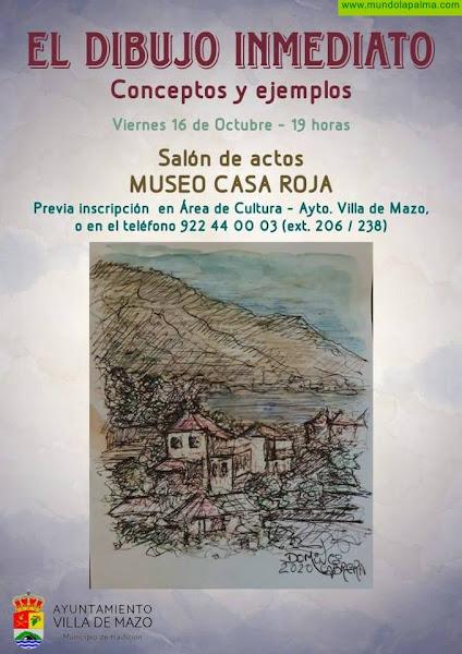 El artista Domingo Cabrera ofrece una charla y una  visita guiada a su exposición 'La impronta inventada' en Mazo