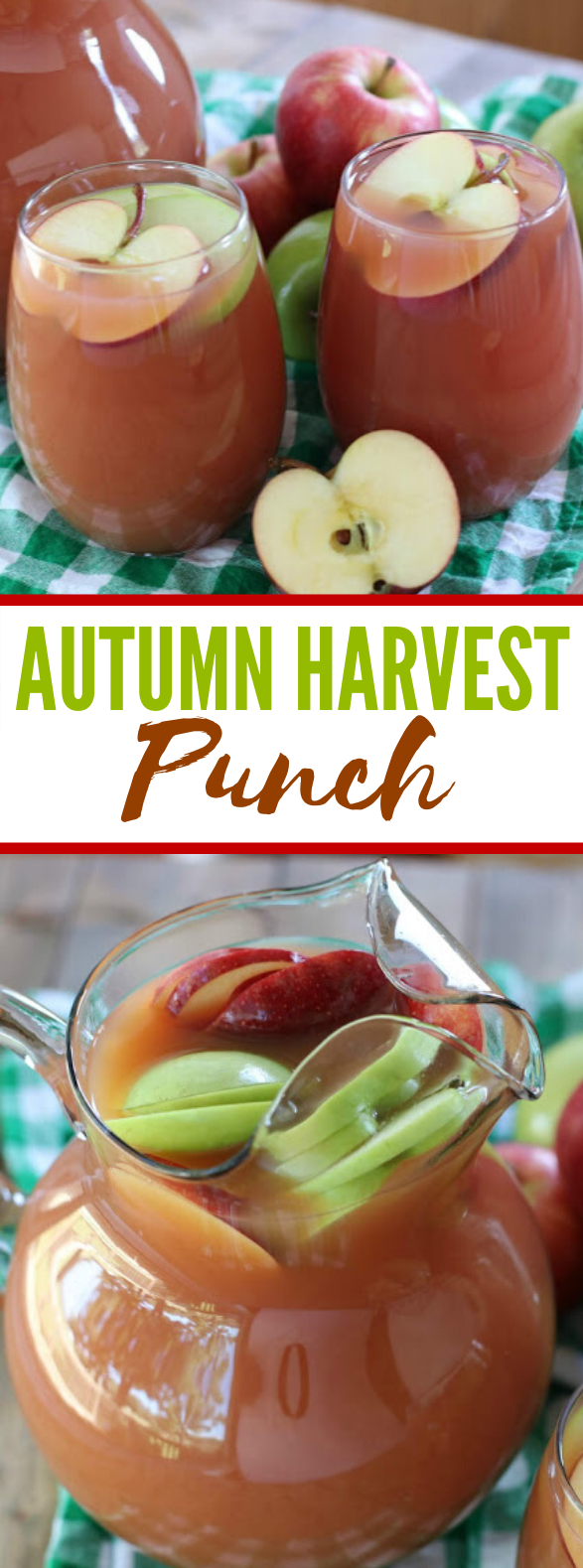 Autumn Harvest Punch #drinks #kidfriendly