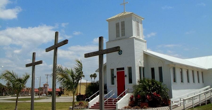 Iglesia en Everglades City