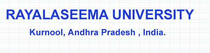Rayalaseema University Degree Supply Exam Time Table 2016