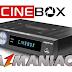 Atualização Cinebox Legend Duo HD - 29/07/2017