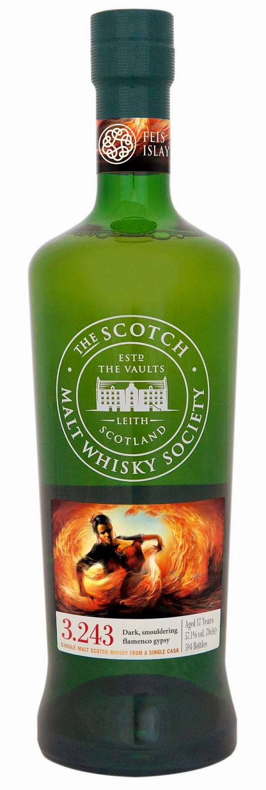 SMWS 3.243 'Dark, smouldering flamenco gypsy