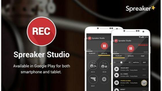 spreaker studio untuk buat podcast