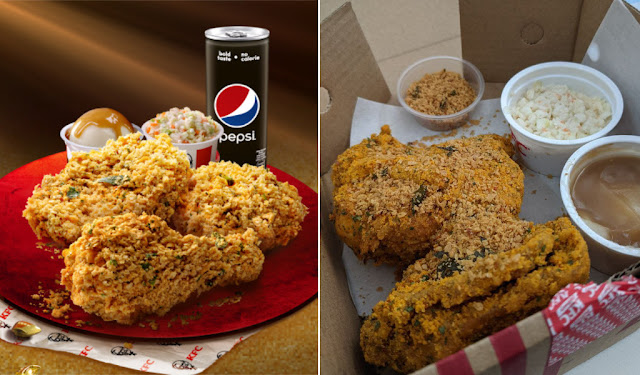 Sempena CNY, Aku Cuba Menu Baru, Golden Butter Cereal Daripada KFC