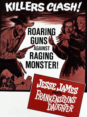 Jesse James contra la hija de Frankenstein