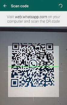 cara menyadap whatsapp dengan scan QR Code