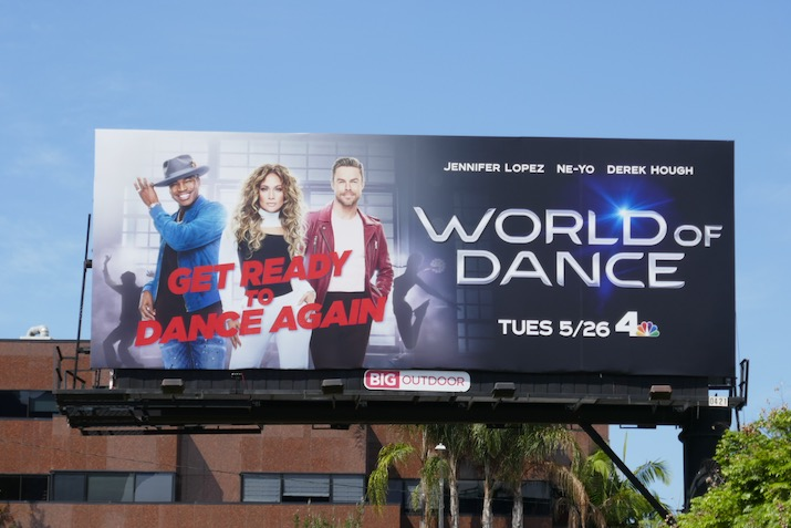 World of Dance season 4 NBC billboard