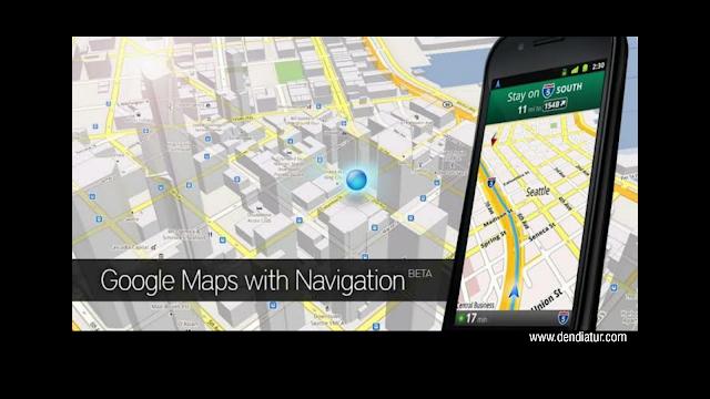 Google map maih mennadi aplikasi terbaik untuk kategori map dan navigations android