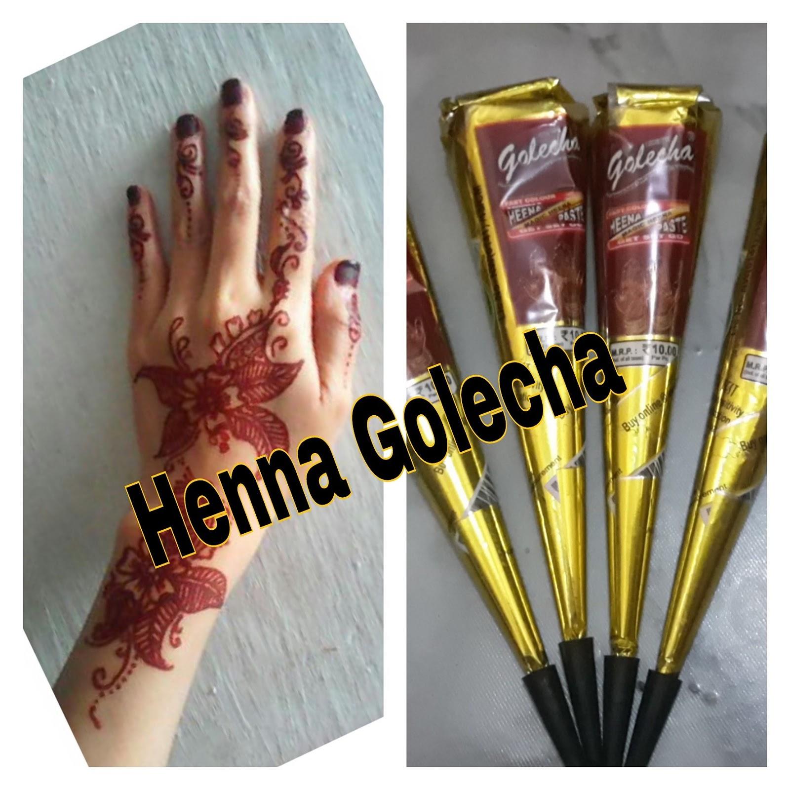 Henna Golecha India