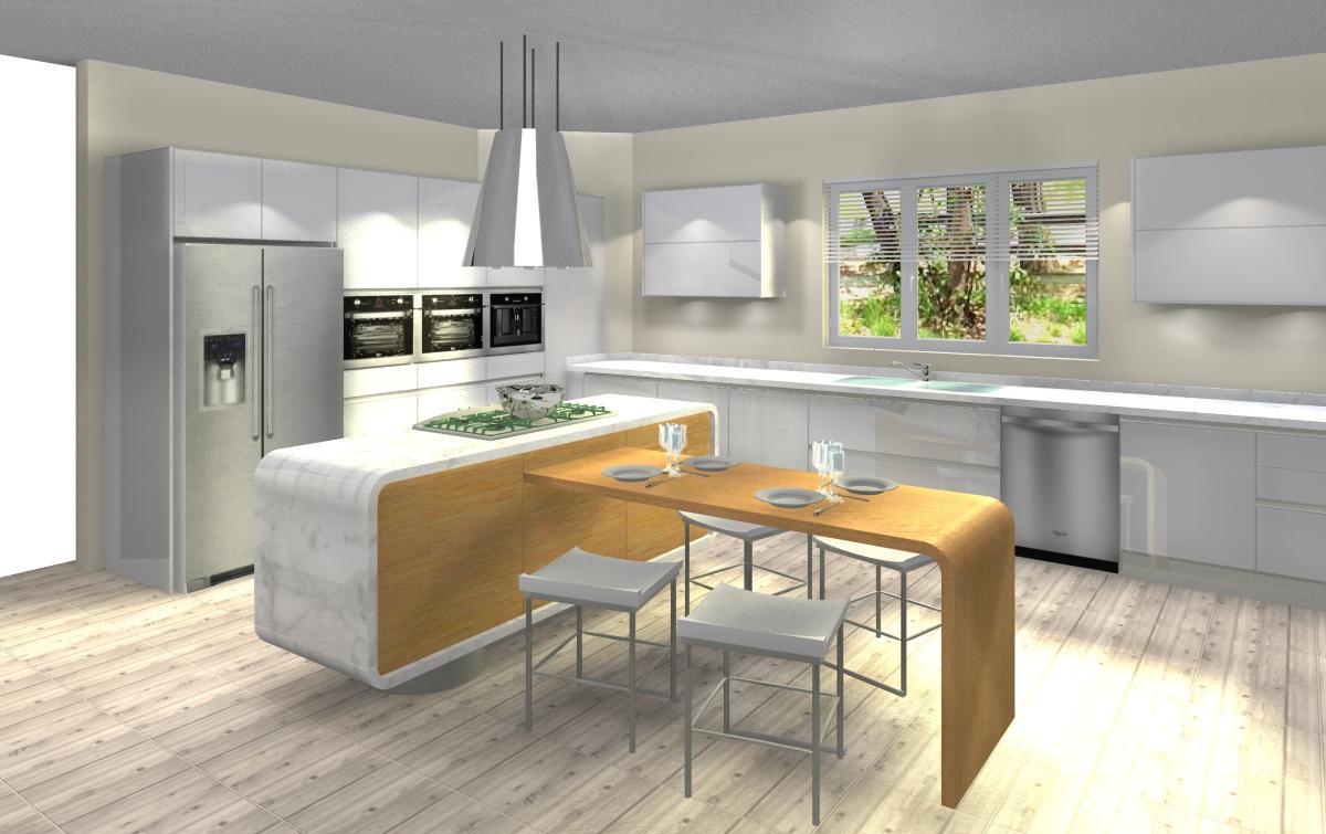 Dise os de arquitectura en cocinas dise o cocina isla tuxtla for Tipos de cocina arquitectura