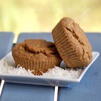 Gluten Free Coconut Banana Protein Muffins