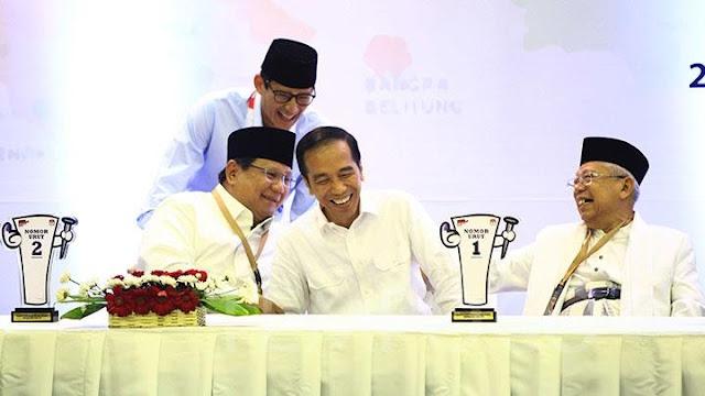 Prabowo-Sandi Kini Jadi Menteri Jokowi, KSP: Tak Ada Musuh Politik