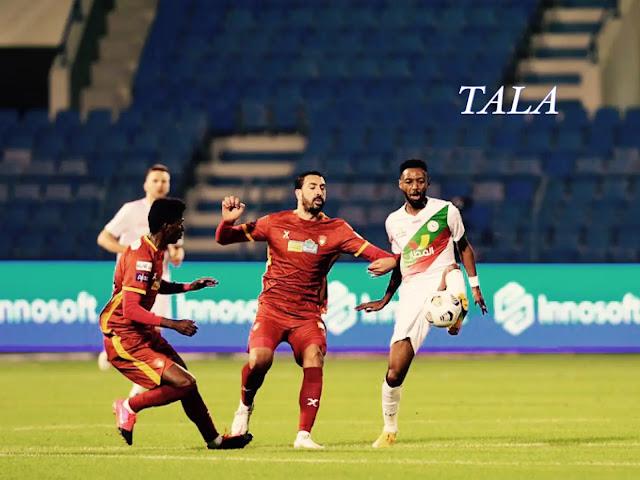 فوز الاتفاق على ضمك في الجولة الثامنة  من الدوري السعودي