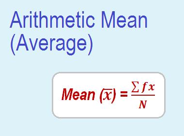 Arithmetic Mean (Average)